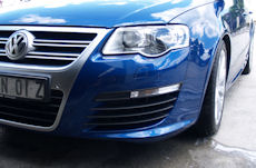 VW R36 protected with Ceramic Polymer Nanotechnology Paint Protection after simple car wash