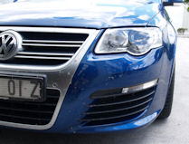 VW R36 protected with Ceramic Polymer Nanotechnology Paint Protection after our trip from Brisbane to Sydney and back